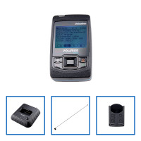 POLARION gsm]]+ Set 2r: Pager, Ladegerät, Akku, robuster Holster und Antenne